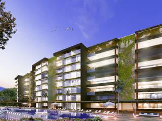 Condominio Guayacanes 3 Casas modernas de O11ceStudio Moderno