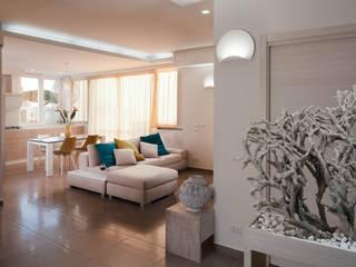 Casa N+V Soggiorno moderno di manuarino architettura design comunicazione Moderno