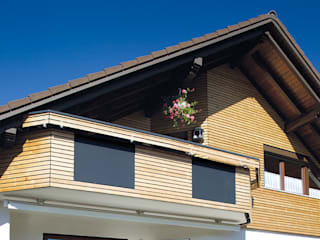 Braun & Würfele - Holz im Garten Modern houses Wood