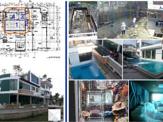 Idea - Zone น้ำ (project 55-01 บ้านคุณอดิสรณ์ โสภา):  สระว่ายน้ำ by คณะบุคคลมุมน้ำเงิน
