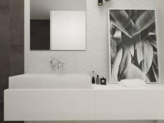Banheiros modernos por FOORMA Pracownia Architektury Wnętrz Moderno