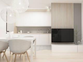Dining room by FOORMA Pracownia Architektury Wnętrz
