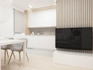 Scandinavian style dining room by FOORMA Pracownia Architektury Wnętrz Scandinavian