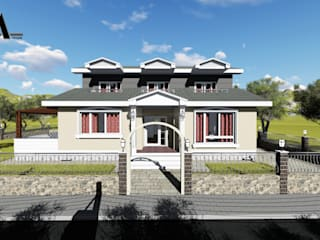 Casas de estilo  por alfa mimarlık