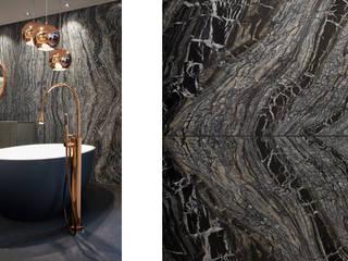 Minimalist style bathroom by HUBER NATURSTEIN bei München Minimalist