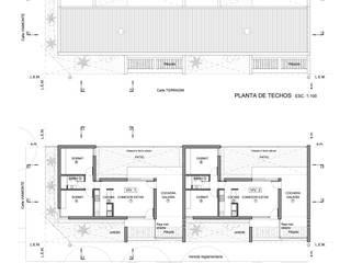 VIVIENDAS DE LADRILLO - Autor: Arq. Mauricio Morra Casas modernas: Ideas, imágenes y decoración de Mauricio Morra Arquitectos Moderno