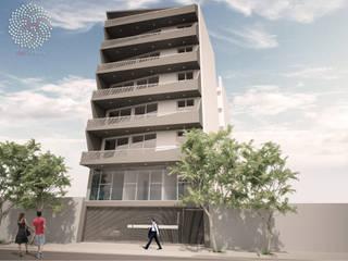 EDIFICIO - OM! URIBURU:  de estilo  por OAC srl