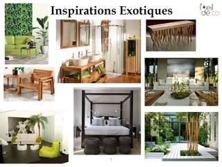 Extension pour créer une chambre d'hôte:  de style  par L'Oeil DeCo