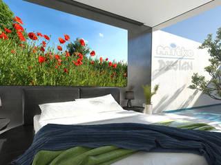 6. GLASBILDER IM SCHLAFZIMMER Moderne Schlafzimmer von Mitko Glas Design Modern