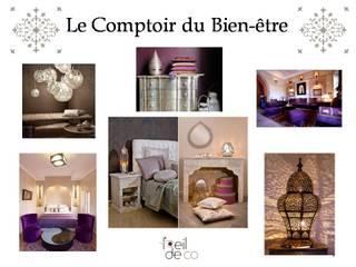 Aménagement d'un espace dédié à la beauté: Bureau de style  par L'Oeil DeCo