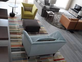 Riverside Loft - London Modern living room by MN Design Modern