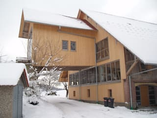 Umbau eines Bauernhauses:  Fenster von Karl Moll GmbH