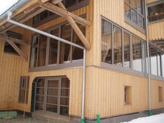 Umbau eines Bauernhauses Fenster & Türen im Landhausstil von Karl Moll GmbH Landhaus