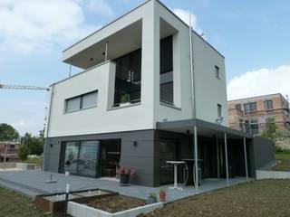 Einfamilienhaus bei Ulm Moderne Fenster & Türen von Karl Moll GmbH Modern