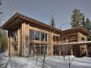 Maisons modernes par Проект ОБЛО Moderne