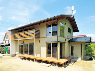 Eclectic style houses by 株式会社 建築工房零 Eclectic