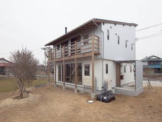 Projekty,  Domy zaprojektowane przez 株式会社 建築工房零, Eklektyczny