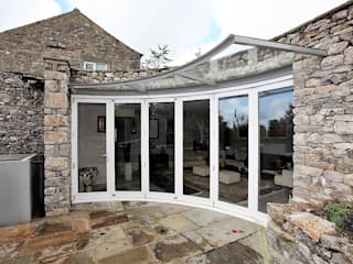 Stockdale Cottage Modern windows & doors by Simplicity Timber Solutions Ltd Modern