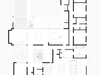 modern  by Poggi Schmit Arquitectura, Modern
