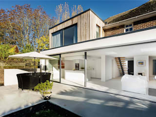 The Beckett House Casas modernas de Adam Knibb Architects Moderno