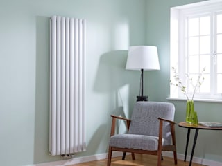 Middle Connection Radiators BestHeating UK CasaGrandi Elettrodomestici Ferro / Acciaio Bianco