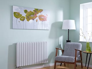 Middle Connection Radiators BestHeating UK MaisonArticles ménagers Fer / Acier Blanc