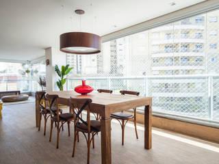Balcon, Veranda & Terrasse modernes par Casa Mansur Moderne