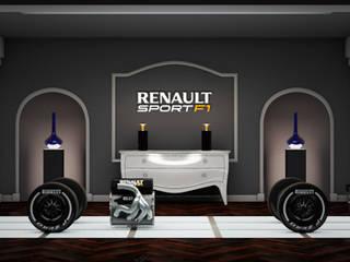 Renault F1 Lieux d'événements modernes par Thibaut Perrin Moderne
