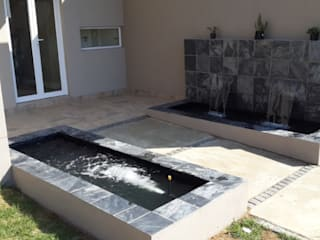 Pond Installations:  Garden by Isivande fish ponds