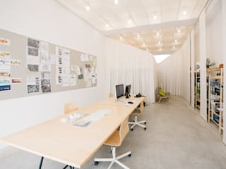 mksarchitetti Oficinas de estilo moderno Blanco
