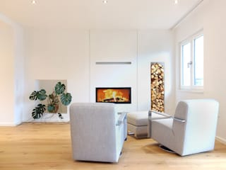 Haus MOU:  Wohnzimmer von archequipe