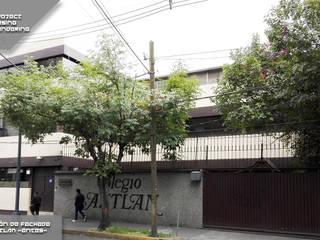 Remodelación Fachada de Colegio Casas modernas de PM ARQUITECTURA Y DISEÑO, S.A. DE C.V. Moderno
