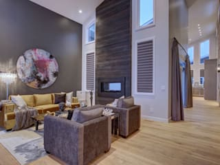 53 Paintbrush Park Modern living room by Sonata Design Modern