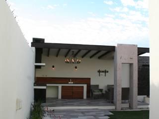 모던스타일 발코니, 베란다 & 테라스 by Daniel Teyechea, Arquitectura & Construccion 모던