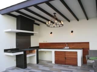 Daniel Teyechea, Arquitectura & Construccion Balcon, Veranda & Terrasse modernes