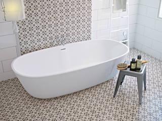 Mediterranean style bathroom by olivia Sciuto Mediterranean