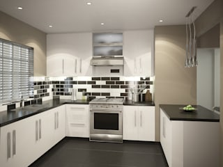 Residential French Lane:  Kitchen by HEID Interior Design