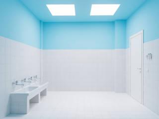 Bagno dei bambini: Bagno in stile  di Elsa Campolucci Architetto