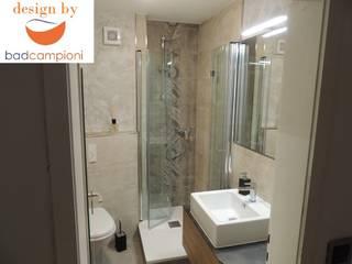 KLEIN ABER MIT GROSSER WIRKUNG!!!: moderne Badezimmer von Bad Campioni
