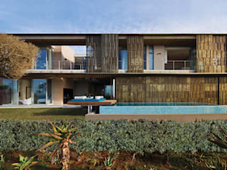 Eclectic style houses by ARRCC Eclectic