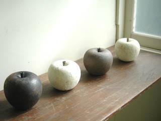 林檎のオブジェ: 加藤あゐが手掛けたです。