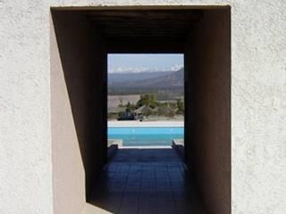 MULELLE MENDOZA Piletas modernas: Ideas, imágenes y decoración de ARQUITECTO MAURICIO PIZOLATTO Moderno