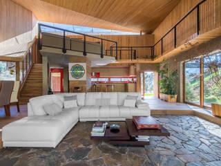 Casa El Maqui: Livings de estilo  por GITC