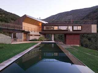 Casa El Maqui: Casas de estilo  por GITC