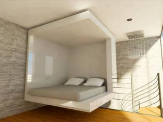 Dormitorios de estilo  de DLR ARQUITECTURA/ DLR DISEÑO EN MADERA, Minimalista