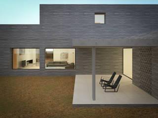 Villa singola Spa moderna di MIDE architetti Moderno