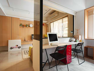 Scandinavian style study/office by 一葉藍朵設計家飾所 A Lentil Design Scandinavian