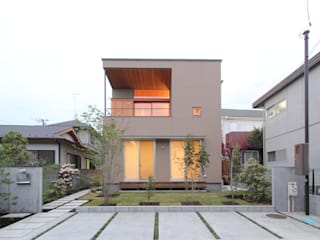Eclectic style garden by 平林繁・環境建築研究所 Eclectic
