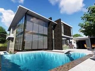Quinta RZ La Victoria:  de estilo  por Arquitectura Creativa