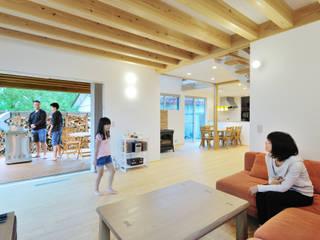 株式会社 建築工房零 Living room